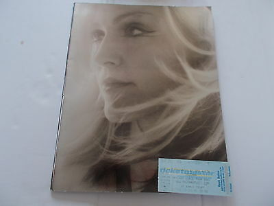 Madonna Drowned Concert Programme And Ticket 2001