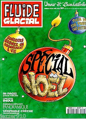 Fluide Glacial Numero Special Noel 1996 ¤ Avec Supplement Depliant Panoramique