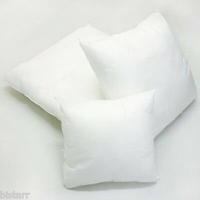 "Cushion Inserts Fillers Scatters Inners Inner Pads  16"" 18"" 20"" 12"" Hollow Fibre"