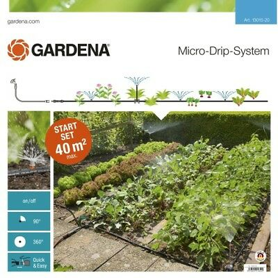 Gardena Micro-Drip System Starter Set for Garden Beds 13015-20