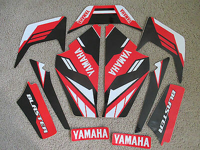 Yamaha  Blaster Red/black Graphics  1987 1988 1989 2000 2001 2002