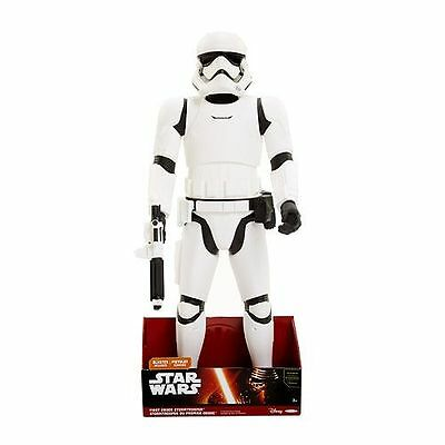 "Star Wars VII The Force Awakens STORMTROOPER ACTION FIGURE 31"" First Order *NIB*"