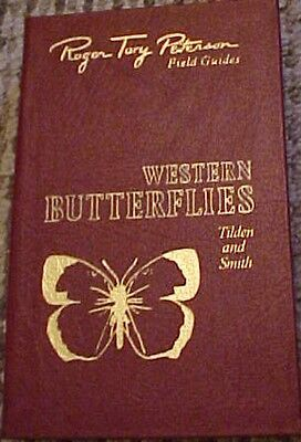 Easton Leather Book,  Western Butterflies, Roger Tory Peterson Field Guide,