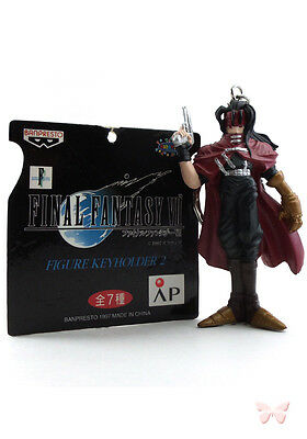 Final Fantasy 7 VII FF7 FFVII Keychain Key Chain Figure Keyholder 2 Vincent