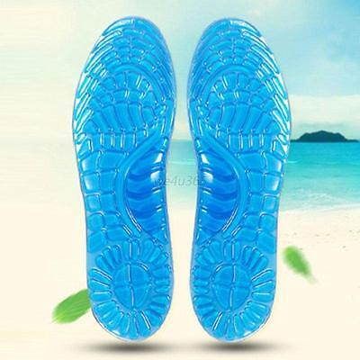 High Quality Unisex Soft Orthotic Arch Support Massaging Gel Silicon Insoles Pad