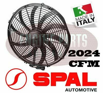 Spal 16 Inch Electric Thermo Thermatic Fan Curved Blade Puller 2024Cfm