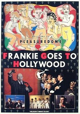 Frankie Goes To Hollywood - Holly Johnson Poster Plakat (89x59cm) #242