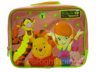 Official Winnie The Pooh Kids School Lunch Bag New Free P+P