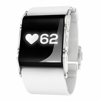 Pulse On Wrist Device Heart Rate Monitoring System - White