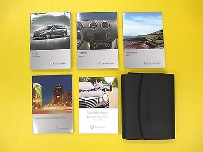 R Class 11 2011 Mercedes Benz Owners Owner S Manual Set With Case Rh  Picclick Com