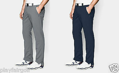 New For 2017 - Under Armour Match Play Men's Tapered Golf Trouser Pants 1253492