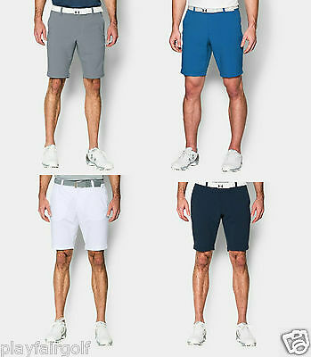 New For 2016 Under Armour HeatGear Match Play Tapered Men's Golf Shorts 1272356
