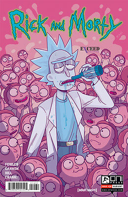 Rick and Morty #14 Exceed Exclusives Variant 1500 Oni Press Comic  ex1