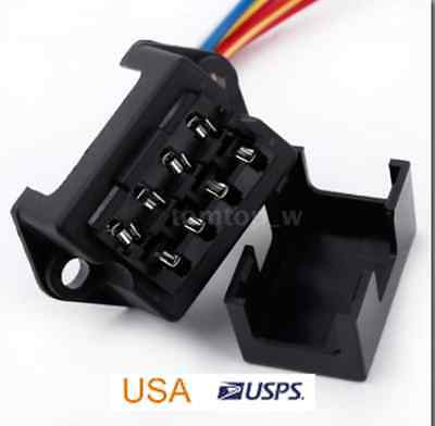 4 WAY FUSE Box ATO/ATC Auto Fuse Holder With 5 Inch Wire Lead  Way Fuse Box on