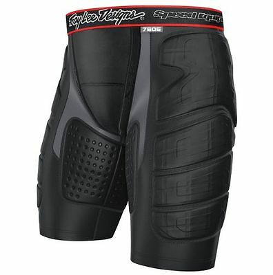New Troy Lee Designs 7605 Motocross Ultra Protection Shorts Black Blk All Sizes