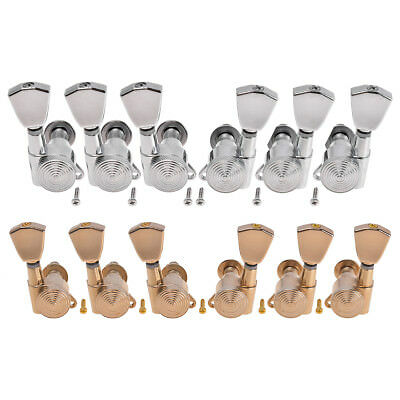 Electric Acoustic Guitar String Tuning Pegs Keys Tuners Machine Heads 3x3 2 Set