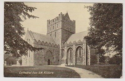 Ireland postcard - Cathedral from S.W, Kildare - P/U