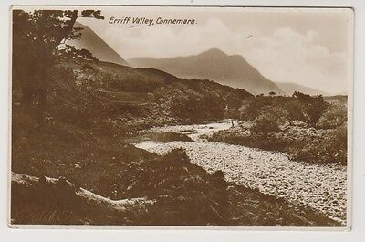 Ireland postcard - Erriff Valley, Connemare, Co. Mayo - RP