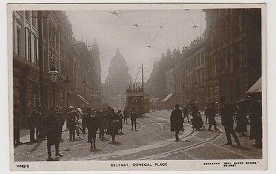 Northern Ireland postcard - Belfast, Donegal Place, Co. Antrim - RP
