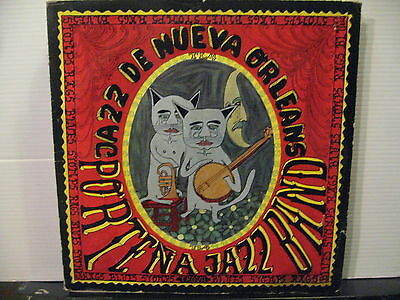 Portena Jazz Band- Music of New Orleans - US Press- Vinyl lp- Free UK Post