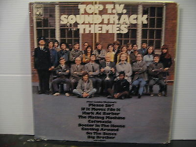 Top TV Themes-Please Sir!/On the Buses/Catweazle/BigBrother-Vinyl-Free UK Post