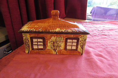 Vintage Price Kensington Cottage Ware Cheese Or Butter Dish Lidded