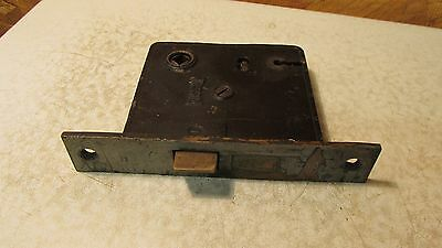 Antique Cast Iron Russwin Mortise Lock No. 24
