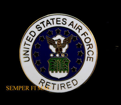 Us air force retired hat lapel vest pin up usaf afb veteran us air force retired hat lapel vest pin up usaf afb veteran retirement gift wow publicscrutiny Choice Image