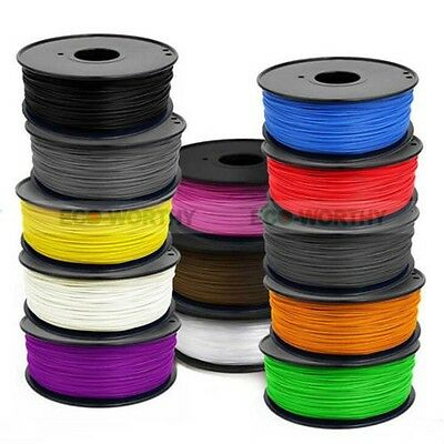 ECO 3D Printer Filament  ABS 1.75mm/3mm 1kg Plastic Rubber Consumables Material