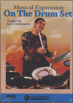 Musical Expression On The Drum Set Tuition DVD Learn How To Play Jack DeJohnette