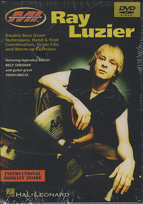 Ray Luzier Double Bass Drum Techniques Tuition DVD Learn How To Play