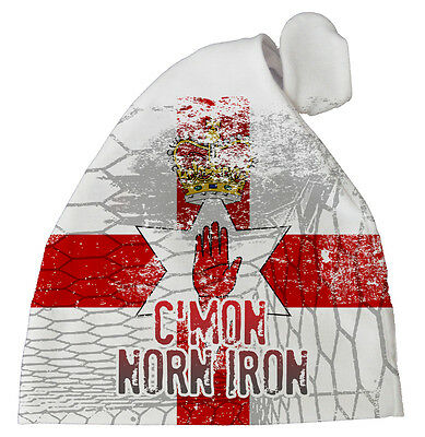 "Northern Ireland Football Hat ""C'mon Norn Iron"" Baby Subli Print Hat Team"