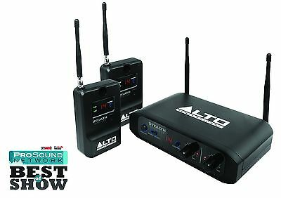 Alto Stealth Wireless System For Active Loudspeakers Audio UHF XLR Two-Channels