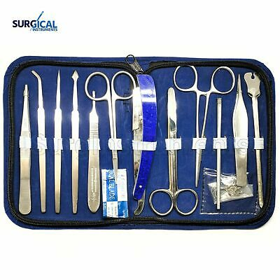 14 pcs advanced dissection kit for Anatomy/Biology/Botany/Students/Teachers