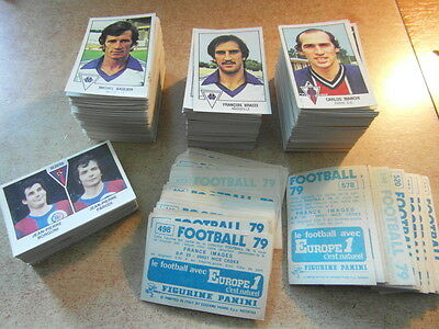 original FOOTBALL STICKERS PANINI FOOT 79 1979 FRANCE Choisir dans liste