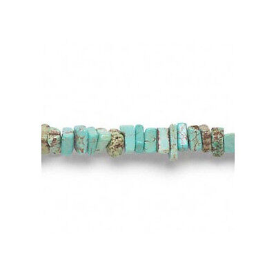 Strand of 150+ Turquoise Magnesite Approx 3-8mm Chip Beads FM9523