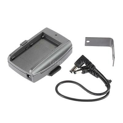 Battery Adapter Plate Base + DC cable for Sony NP-F 970 F750 F550 Battery W9Q0