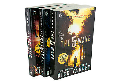 Rick Yancey The 5th Wave Series 3 Books Collection (The Last Star, Infinite Sea)