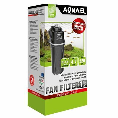 Aquael FAN1 Plus Professional Aquarium Innenfilter 4,7Watt Aquariumfilter 320l/h