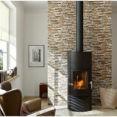 NATURAL STONE SLATE WALLPAPER 10m A.S. CREATION (9142-17) NEW FREE P+P