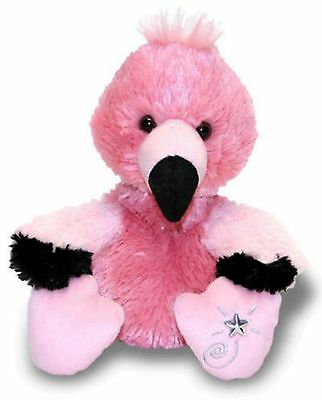 Russ Berrie Shining Stars Pink FLAMINGO Plush Super Soft!! NEW with all tags!!!