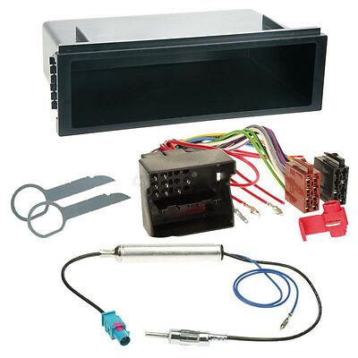 VW Polo 9N3 05-08 1-DIN Car Radio Installation Set+Cable,Adapter,Radio faceplate
