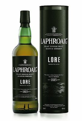124,27€/L Laphroaig Lore Islay Single Malt Scotch Whisky 48% 0,7 Liter