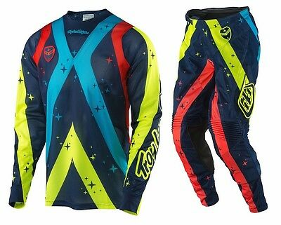 New 2017 Troy Lee Designs Phantom Se Air Mx Dirt Bike Gear Combo Navy All Sizes
