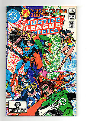 Justice League of America Vol 1 No 200 Mar 1982 (VFN+) 72 Page Super Size Issue