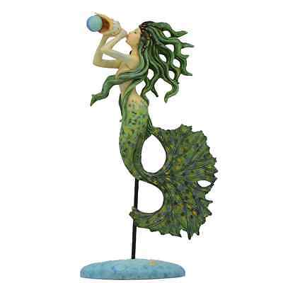 Blowing Bubbles Figurine Syrens of the Sea Jaqueline Collen-Tarrolly Munro Gifts