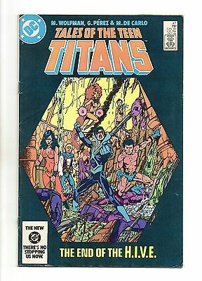 Tales of the Teen Titans Vol 1 No 47 Oct 1984 (VFN+) DC, Modern Age (1980 - Now)