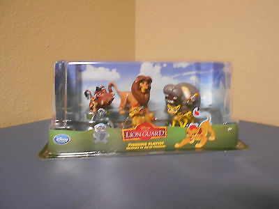 Disney The Lion Guard 6 Figure Playset *new*