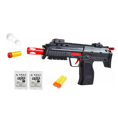 2-in-1 Water Crystal Gun Paintball Gun Soft Bullet Nerf Gun CS Game Kid Toy Gift