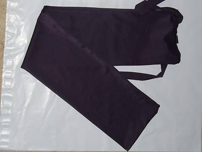 Plum rugless lycra tail bag pony size
